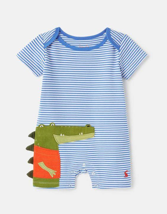 JOULES PATCH APPLIQUE BABYGROW