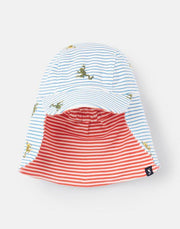 JOELES SONNY REVERSIBLE HAT WITH NECK COVER