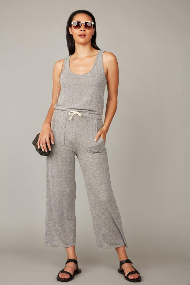 PISTACHE- KNIT JUMPSUIT