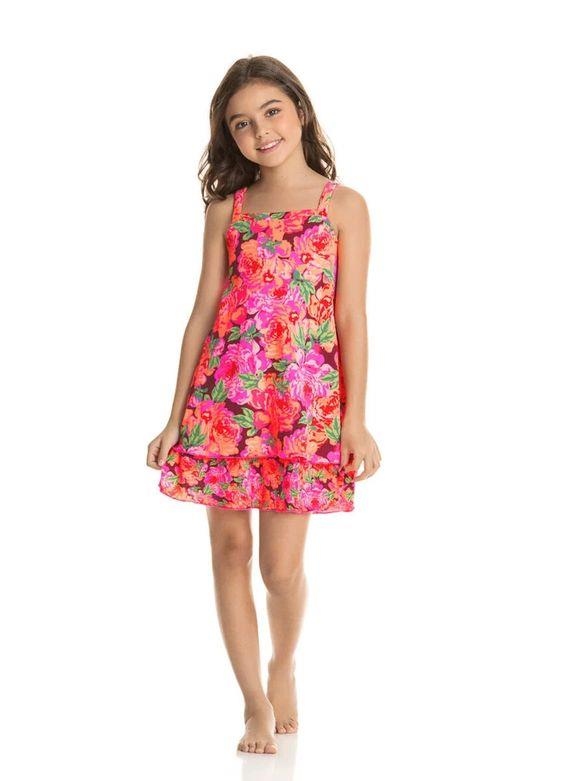 Maaji Petite Rose Camille Girls Short Dress