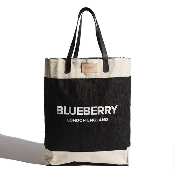 THE COOL HUNTER- BLUEBERRY MARKET BAG
