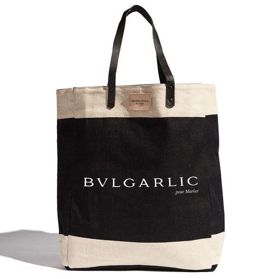 THE COOL HUNTER- BVLGARLIC MARKET BAG