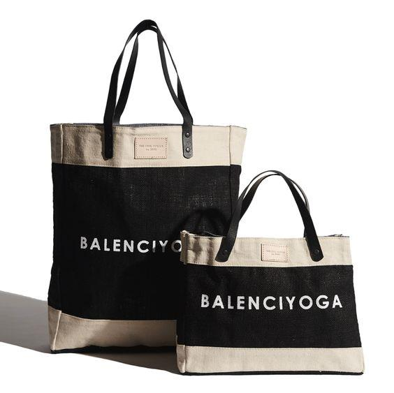 THE COOL HUNTER- Balenciyoga - Mini Market Bag
