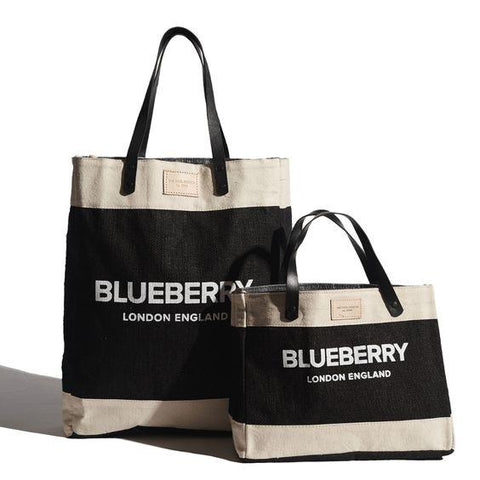 THE COOL HUNTER- BLUEBERRY MINI MARKET BAG