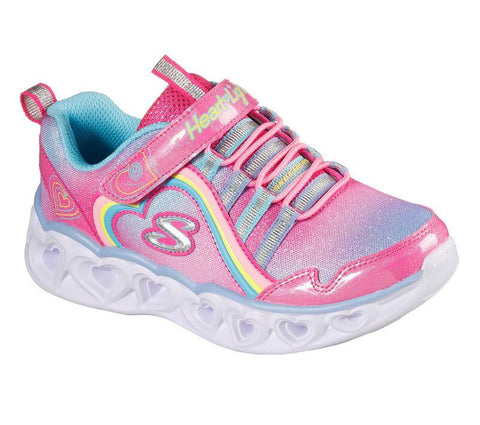 SKECHERS- KIDS S Lights: Heart Lights - Rainbow Lux