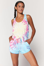SPIRITUAL GANGSTER PERFECT LOUNGE ROMPER