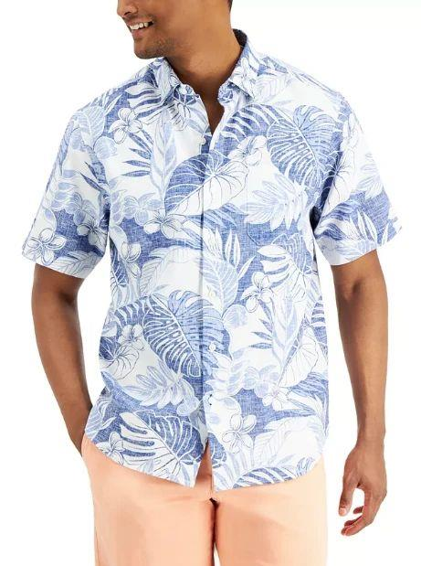 TOMMY BAHAMA True Blue Fronds Shirt