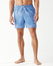TOMMY BAHAMA Naples Coral Coast 6-Inch Swim Trunks