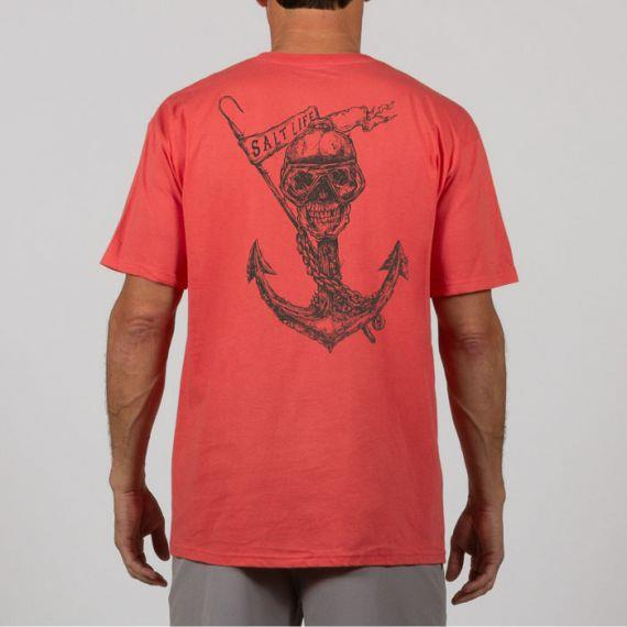 SALT LIFE To The Depth Short Sleeve Tee
