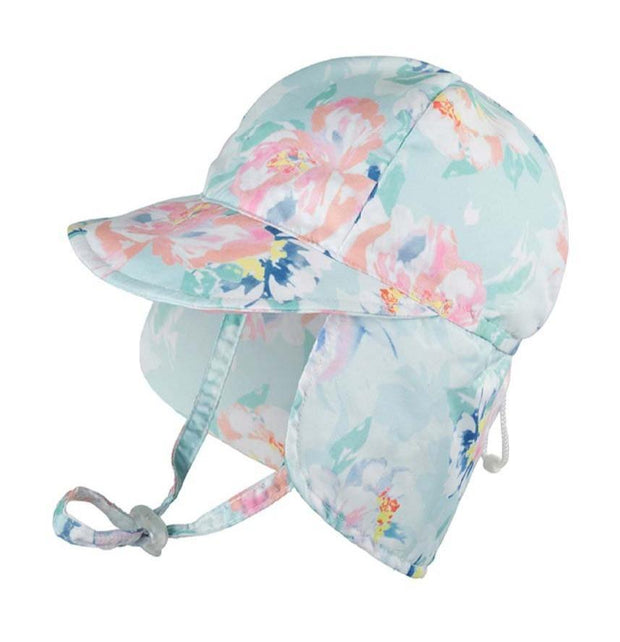 MILLYMOOK BABY GIRL'S LEGIONNAIRE HAT PEONY