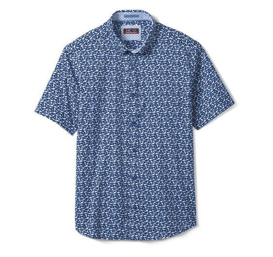 JOHNSTON & MURPHY XC4® PERFORMANCE SHORT-SLEEVE SHIRT