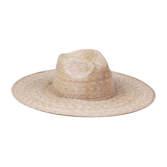 LACK OF COLOR- PALMA WIDE FEDORA