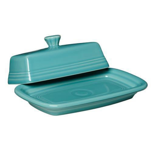 FIESTA - TURQUOISE XL BUTTER DISH