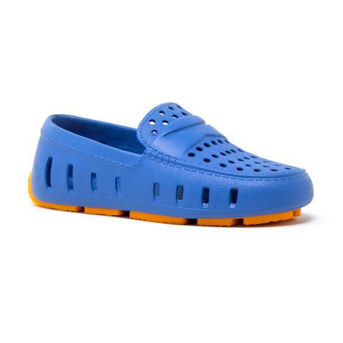 FLOAFERS- KIDS PRODIGY DRIVER palace blue