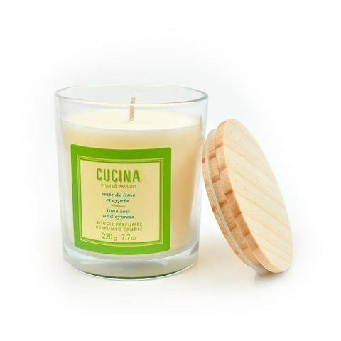 FRUITS & PASSION CUCINA LIME ZEST CANDLE 7.7oz