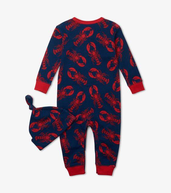 HATLEY NAVY LOBSTER COVERALL