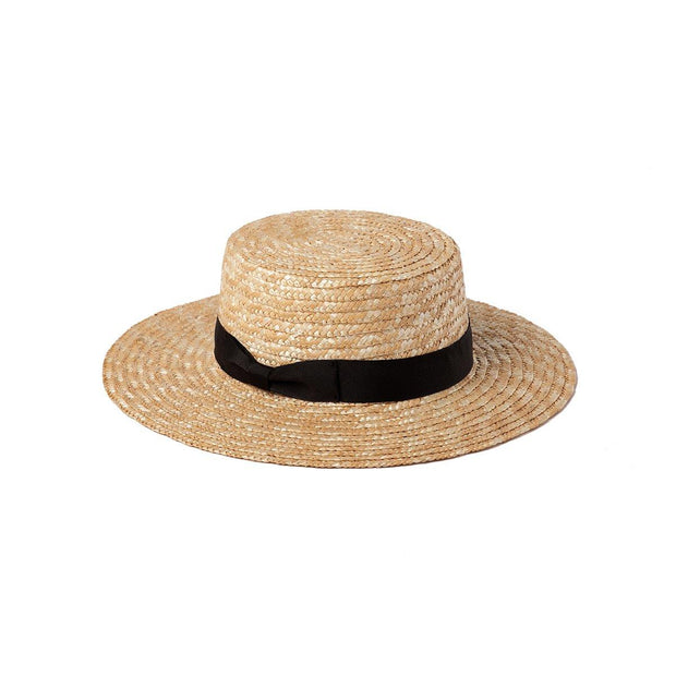 LACK OF COLOR THE SPENCER BOATER HAT