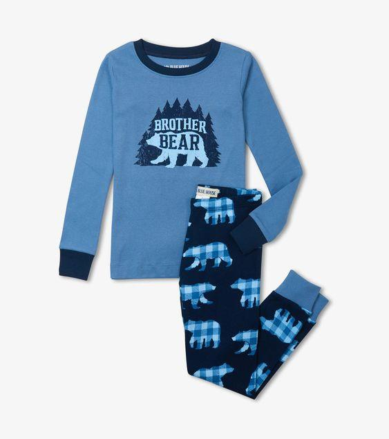 HATLEY BROTHER BEAR PJ SET