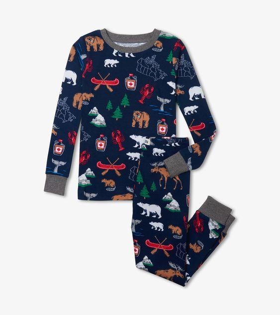 HATLEY TRUE NORTH PAJAMA SET