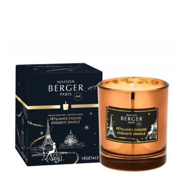 LAMPE BERGER - EXCUISITE SPARKLE CANDLE