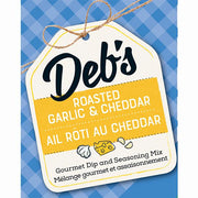 DEB'S DIPS - ROASTED GARLIC & CHEDDAR