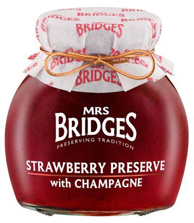 MRS. BRIDGES - STRAWBERRY CHAMPAGNE PRESERVE