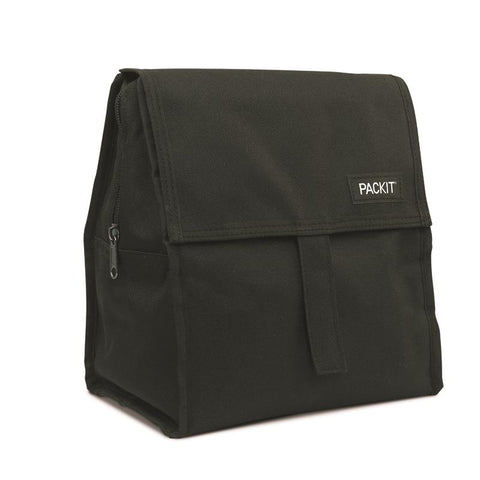 PACKIT - FREEZABLE LUNCH BAG BLACK