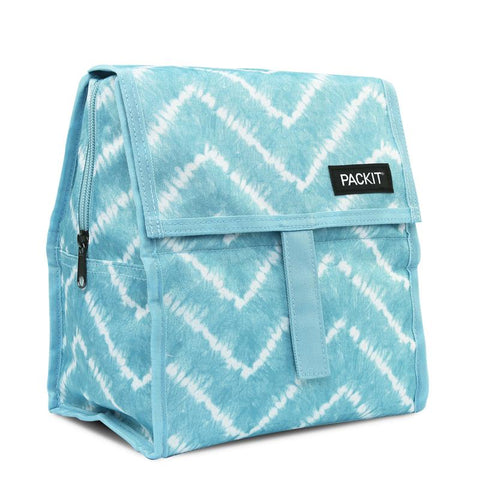 PACKIT - LUNCH BAG MULTI BLUE