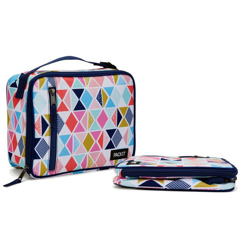 PACKIT - CLASSIC LUNCH BAG MULTI PINK