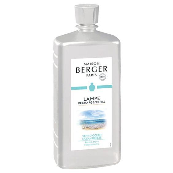 LAMPE BERGER- OCEAN BREEZE 1 LTR LAMP FRAGRANCE