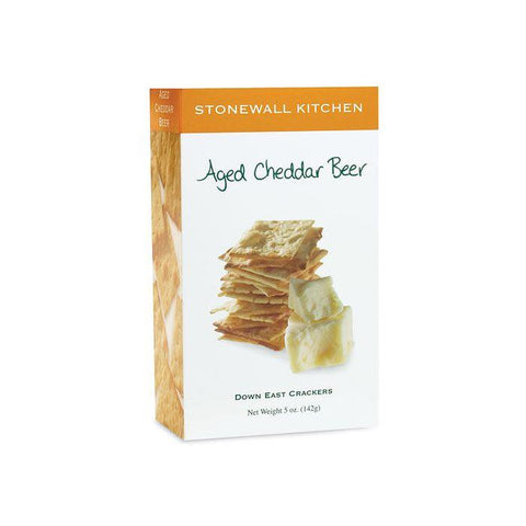 STONEWALL KITCHEN - AGED CHEDDAR BEER CRACKERS