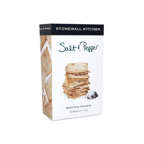 STONEWALL KITCHEN - SALT & PEPPER CRACKERS