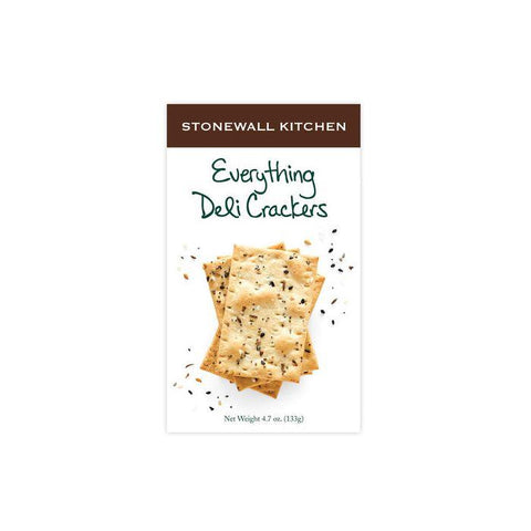 STONEWALL KITCHEN - EVERYTHING DELI CRACKERS