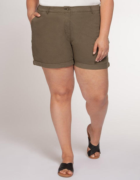DEX PLUS - CHINO SHORT