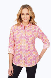 FOXCROFT - ZOEY WRINKLE-FREE CITRUS SHIRT