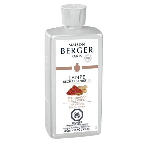LAMPE BERGER- WINTERWOOD LAMP FRAGRANCE 500ML