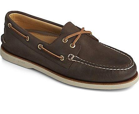 SPERRY- GOLD CUP AUTHENTIC ORIGINAL 2 EYE BOAT SHOE