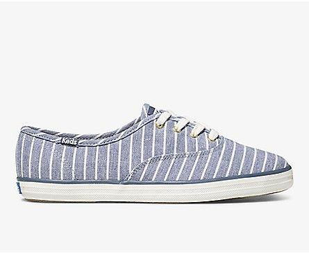 KEDS- CHAMPION CHAMBRAY BRETON STRIPE
