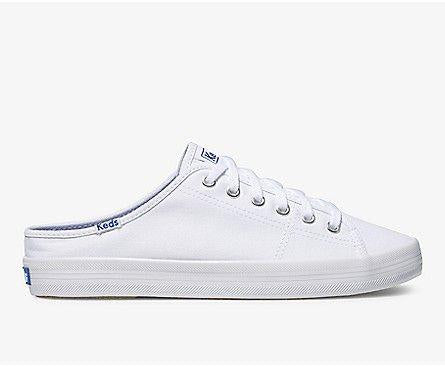 KEDS- WOMEN'S KICKSTART MULE CORE CANVAS