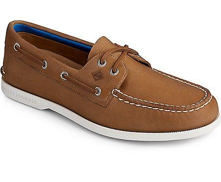SPERRY- MEN`S AUTHENTIC ORIGINAL PLUSHWAVE BOAT SHOE
