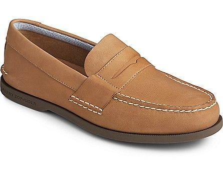 SPERRY- AUTHENTIC ORIGINAL PLUSHWAVE PENNY LOAFER