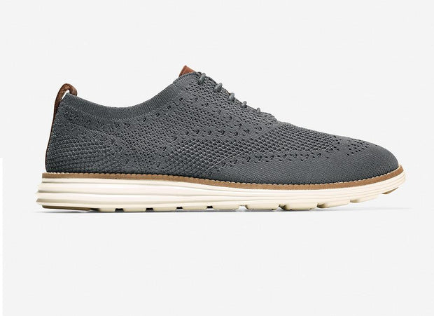 COLE HAAN ORIGINAL GRAND WINGTIP OXFORD GREY