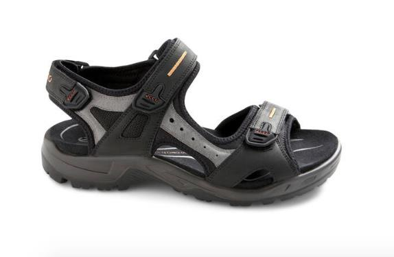 ECCO YUCATAN SANDALS BLACK SIDE