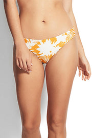 SEAFOLLY WILD TROPICS HIPSTER SAFFRON FRONT
