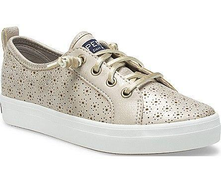 SPERRY- BIG KIDS CREST VIBE PERFORATED SNEAKER