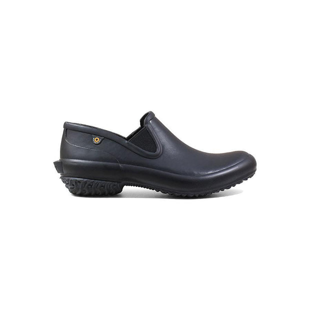 BOGS PATCH SLIP ON BLACK