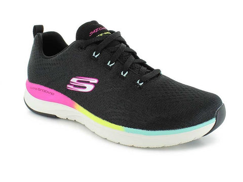 SKECHERS ULTRA GROOVE BLACK SIDE