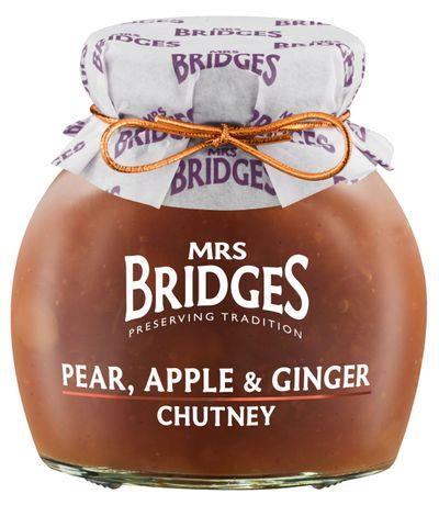 MRS. BRIDGES - PEAR APPLE & GINGER CHUTNEY