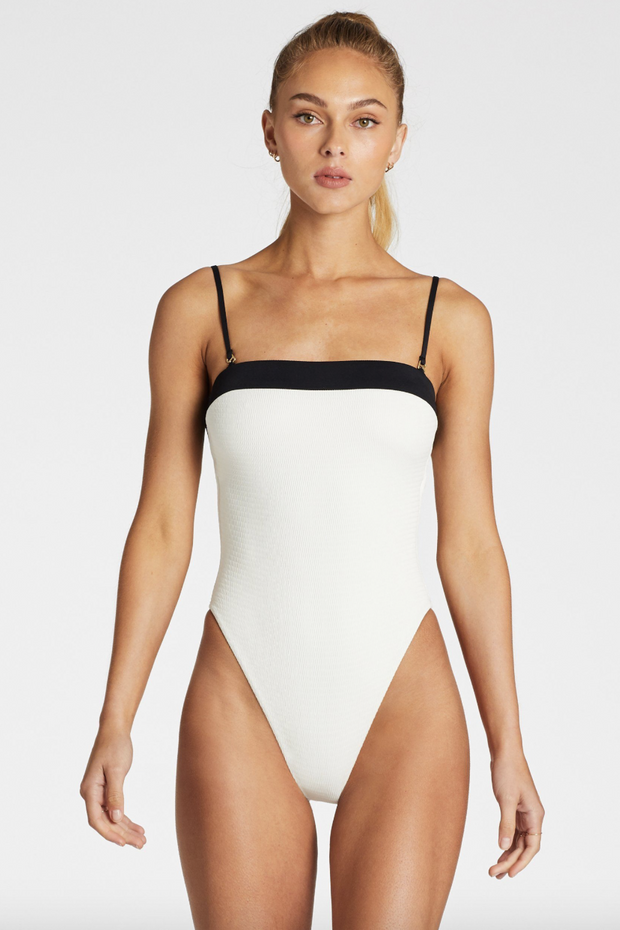 Vitamin A Dea Bodysuit White