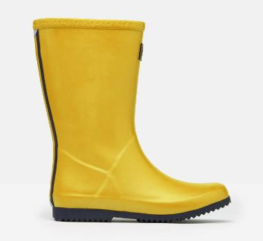 JOULES ROLL UP WELLIES YELLOW GOLD
